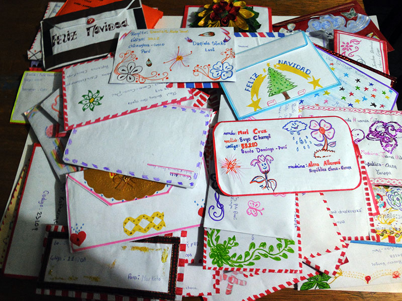 Letters from kids (Sonqocha)