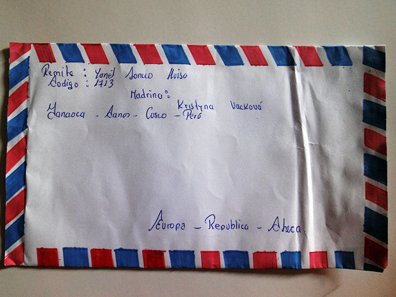 Letters from kids (Sonqocha) 2015